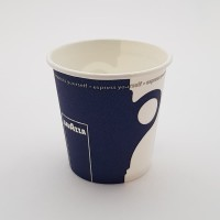 Pahare unica folosinta carton ''lavazza'' 4 oz (118 ml)