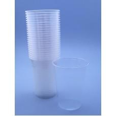 Pahare unica folosinta transparente 230 ml