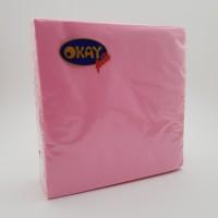 Servetele 2 straturi roz