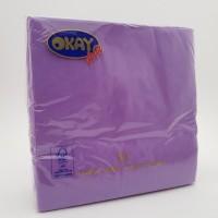 Servetele 2 straturi violet