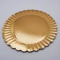 Tavite rotunde aurii  girasole 24-36 cm