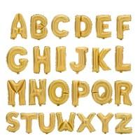 Baloane folie litera - auriu