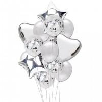 Set 14 baloane folie
