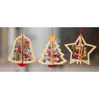 Ornament din lemn 3D